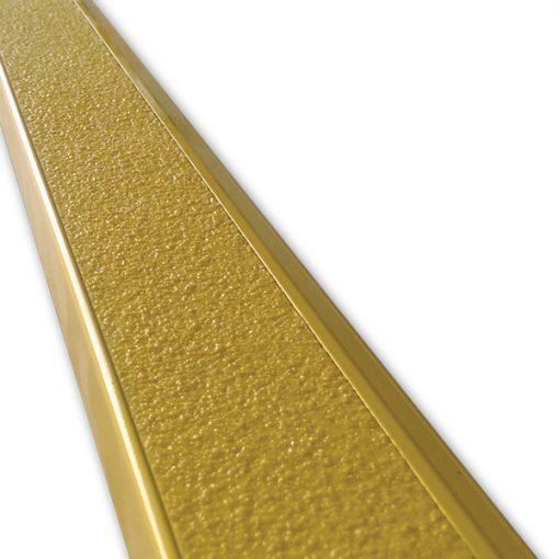 aluminium stair nosing yellow