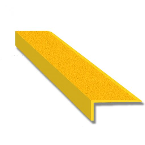 GRP Stair Nosings Yellow