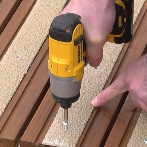 Grp Decking Strips Fixings