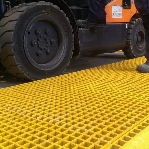 GRP Grating Yellow