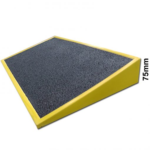 GRP Threshold Ramp 75mm