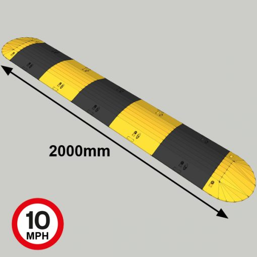 speed bumps mm high mm mph