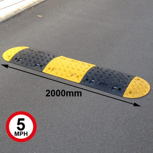 speed bumps 75mm high 2000mm