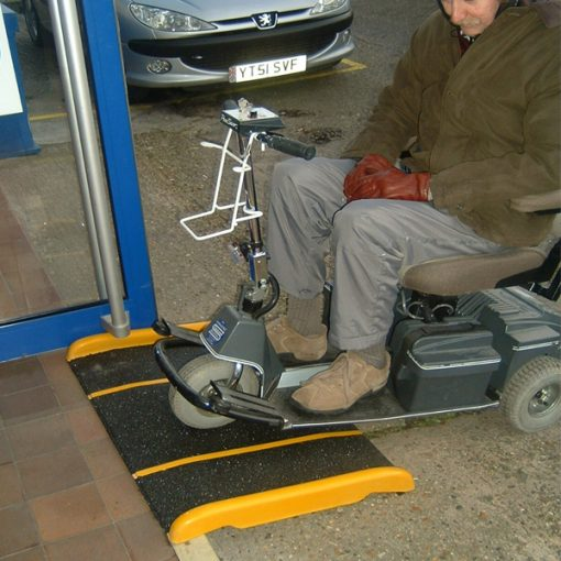 standard fibreglass disabled ramp application