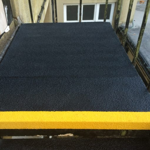 GRP Stair Thread Landing Covers